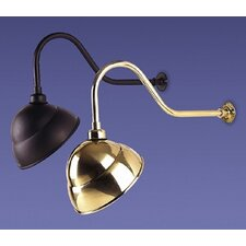 One Light Outdoor Torches Reflector in Black