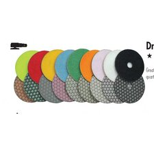 "4"" Set Dry Polishing Pad"