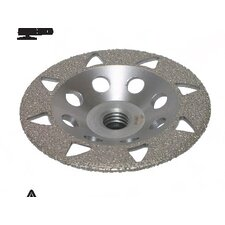 "4"" S22 Vacuum Brazed Grinding Wheels"