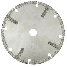 S31V-S Vacuum Brazed Segmented Blades with Side Protectors