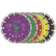 GC-31 Purple Liberty Arbor Green Concrete Blades