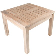 <strong>Arbora Teak</strong> Nantucket Solid Teak Square Side Table