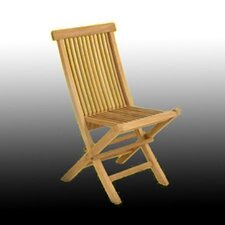 <strong>Arbora Teak</strong> Solid Teak Classic Folding Dining Side Chairs (Set of 2)