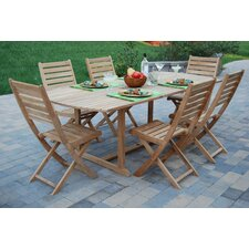 St. Bart 7 Piece Dining Set