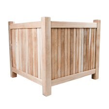 Accent Solid Teak Planter