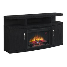 """Cantilever 60"""" TV Stand with 26EF031GRPElectric Fireplace"""