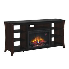 """Marlin 66"""" TV Stand with 26EF031GRP Electric Fireplace"""