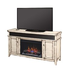 "Simmons 60"" TV Stand with 26EF031GRP Electric Fireplace"
