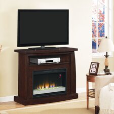 """Boomerand 42"""" TV Stand with 26EF031GRP Electric Fireplace"""