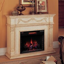 Gossamer Electric Fireplace Mantel Surround