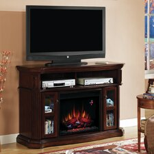"Aberdeen 54"" TV Stand with 23EF031GRP Electric Fireplace"
