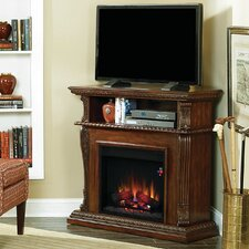 "Corinth 42"" TV Stand with 23EF031GRP Electric Fireplace"