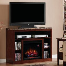 "Adams 48"" TV Stand with 23EF031GRP Electric Fireplace"