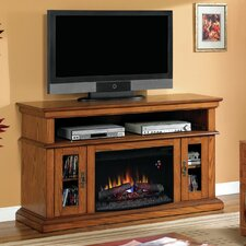 "Brookfield 60"" TV Stand with 26EF031GRP Electric Fireplace"