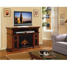 "Pasadena 60"" TV Stand and Electric Fireplace"