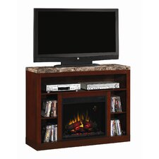 "Adams 48"" TV Stand with Electric Fireplace"