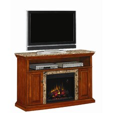 "Brighton 56"" TV Stand with Electric Fireplace"