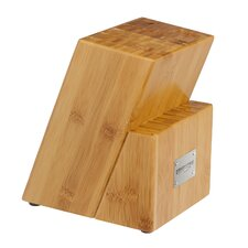 Crimson Series 17 Slot Bamboo Knife Block