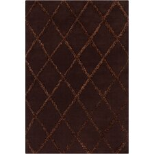 <strong>Chandra Rugs</strong> Davin Brown Geometric Rug