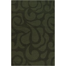 Ast Green Area Rug
