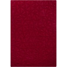 <strong>Chandra Rugs</strong> Celina Red Solid Rug