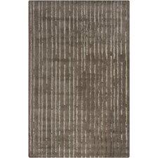 Harrow Brown Striped Area Rug