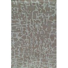 Davin Grey Abstract Rug