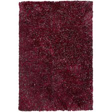 Orion Red Area Rug