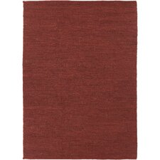 Pricol Red Natural Area Rug