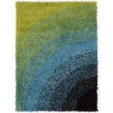 Vivid Green/Blue Area Rug