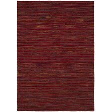Aletta Red Area Rug
