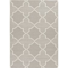 Lima Grey/White Geometric Rug