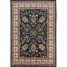 Taj Brown/Blue Area Rug