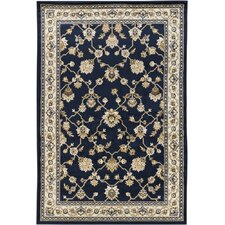 <strong>Chandra Rugs</strong> Taj Blue Rug