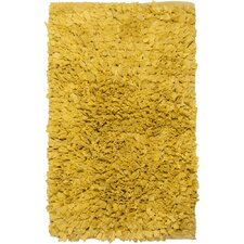 Paper Shag Yellow Area Rug (Set of 2)