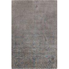 Rupec Grey Abstract Area Rug