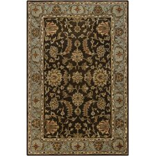 Rupec Brown/Tan Abstract Area Rug