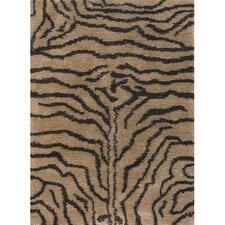 Amazon Brown / Tan Area Rug