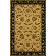 Avani Black/Brown Area Rug