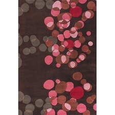 Avalisa Brown/Pink Area Rug