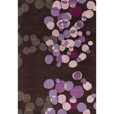 Avalisa Brown/Purple Area Rug