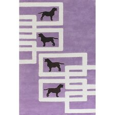 <strong>Chandra Rugs</strong> Avalisa Dog Novelty Rug