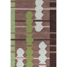 Avalisa Brown/Green Area Rug