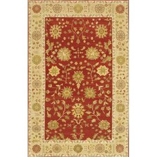 Carona Red / Tan Area Rug