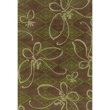 <strong>Chandra Rugs</strong> Venitian Butterfly Novelty Rug