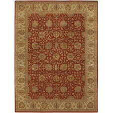 Cesta Red Area Rug