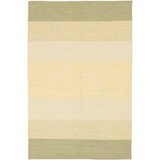 <strong>Chandra Rugs</strong> India Ivory Striped Rug