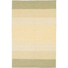 India Ivory Striped Rug