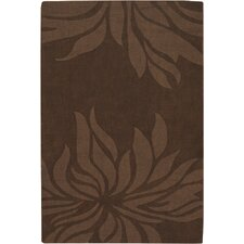 <strong>Chandra Rugs</strong> Jaipur Brown Floral Rug
