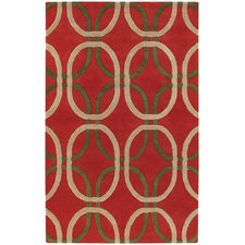 Rowe Red Area Rug
